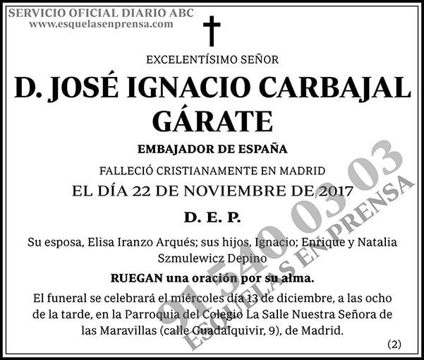 José Ignacio Carbajal Gárate